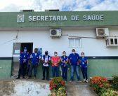Covid-19  Preparativos para barreira sanitária em Brasil Novo.