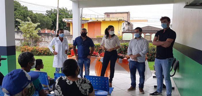Secretaria  de saúde  realiza palestras como ação da campanha do Fevereiro Laranja.