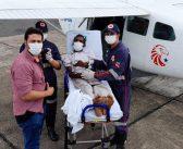 Paciente de Brasil Novo foi transferido para Itaituba-Pa .