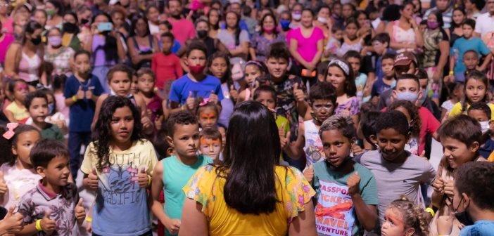 Pela primeira vez na história de Brasil Novo, a prefeitura realizou um FESTIVAL KIDS, a gestão de Pirica e Noedson surpreendeu a população ao comemorar o dia das crianças.
